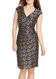 American Living™ Metallic Lace Dress