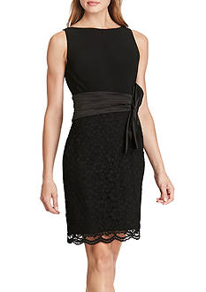 American Living™ Mixed-Media Sheath Dress