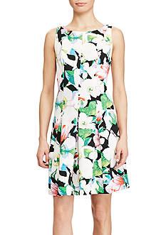 American Living™ Floral Neoprene Dress
