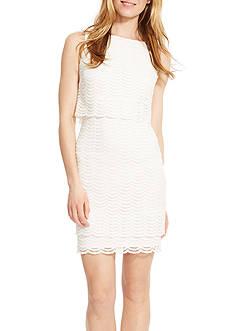 American Living™ Mesh Popover Dress