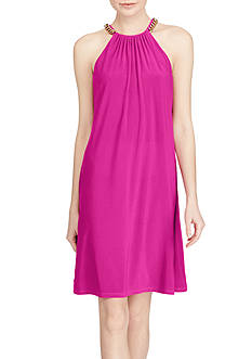 American Living™ Chain-Trim Jersey Dress