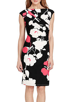 American Living™ Pleated Floral Dress