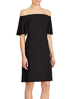 American Living™ Jersey Off-the-Shoulder Dress