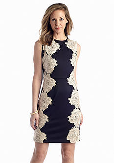 Fifth & Park™ Lace Applique Sheath Dress