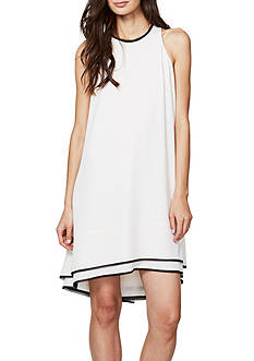 RACHEL Rachel Roy Double Layer High Neck Dress