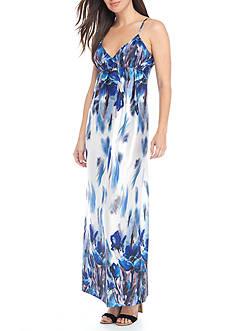 Beige by ECI Printed Maxi Dress