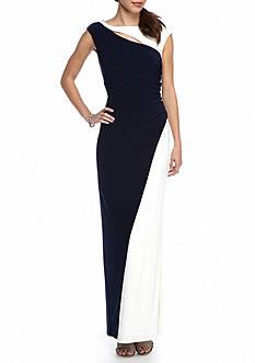 SCARLETT Colorblock Gown