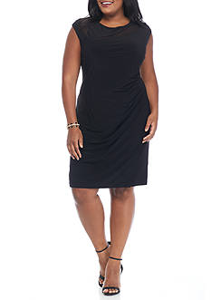 SCARLETT Plus Size Jersey Sheath Dress