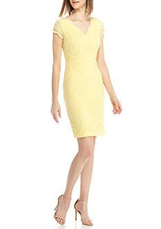 Donna Ricco New York Lace Sheath Dress