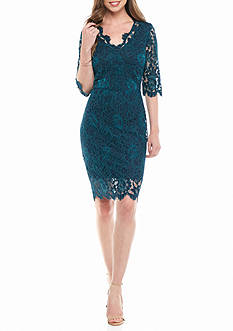 Donna Ricco New York A-line Lace Dress