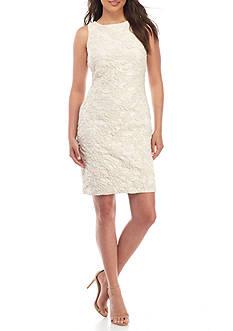 Donna Ricco New York Embroidered Sheath Dress