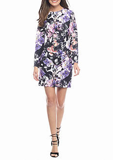 maia Floral Printed Sheath Dress