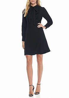 Nanette Nanette Lepore™ Tie-Neck Shirt Dress