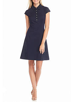 Nanette Nanette Lepore™ Collared Button Front Shirt Dress