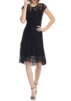 Nanette Nanette Lepore™ Lace Fit and Flare Dress