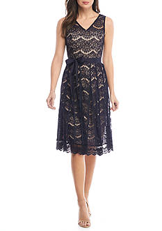 Nanette Nanette Lepore™ Fit and Flare Lace Dress
