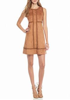 Nanette Nanette Lepore™ Faux Suede Empire-waist Dress
