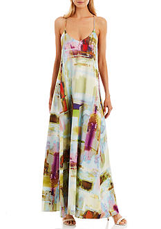Nicole Miller New York Sleeveless Maxi Dress