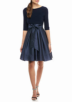 Adrianna Papell Fit and Flare Party Dress