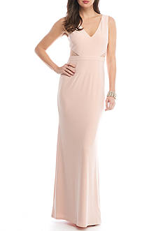 Adrianna Papell Jersey Sleeveless Gown