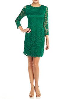Nine West Lace Sheath Dress