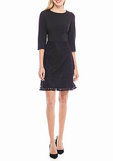 Nine West Lace Skirt A-line Dress