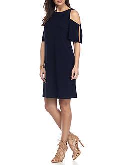 Nine West Cold Shoulder Dress