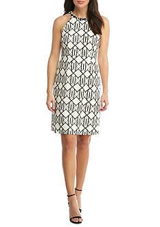 Nine West Sleeveless A-Line Dress