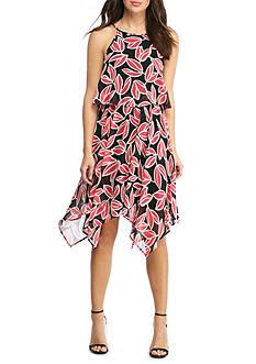 Nine West Printed Popover Dress