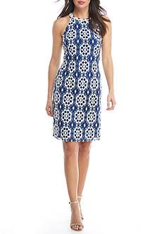 Nine West Sleeveless A-Line Lace Dress