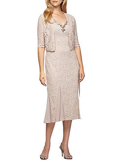 Alex Evenings Sheath Gown