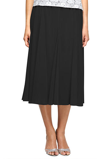 Alex Evenings T-Length Skirt