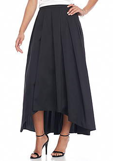 Alex Evenings T-length H-Lo Hem Skirt