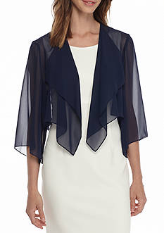 Alex Evenings Sheer Bolero