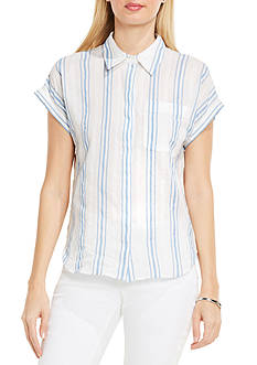 TWO by Vince Camuto Extend Roll Sleeve Shirt