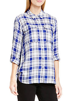 TWO by Vince Camuto Canyon Plaid Shirt