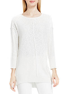 Vince Camuto Long Sleeve Exposed Seam Sweater
