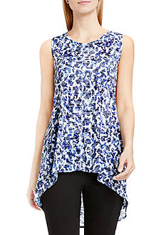 TWO by Vince Camuto High-Low Animal Tee