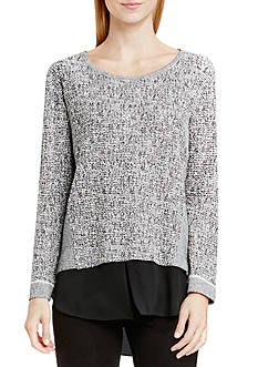 TWO by Vince Camuto Salt & Pepper Top