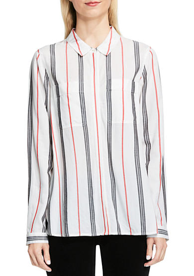 TWO by Vince Camuto Stripe Utility Top
