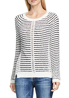 TWO by Vince Camuto Crinkle Yarn Sweater