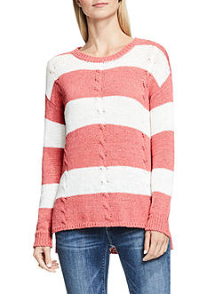 TWO by Vince Camuto Stripe Relaxed Sweater