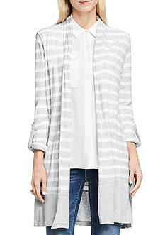 TWO by Vince Camuto Drape Front Cardigan