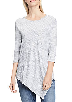 Vince Camuto Asymmetrical Space Dye Top