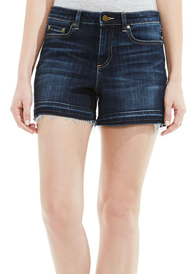 Vince Camuto Undone Jean Shorts