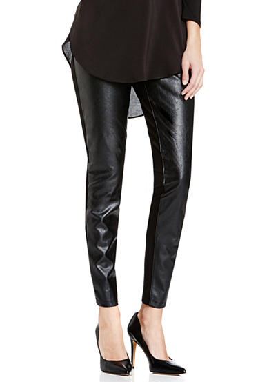 TWO by Vince Camuto Ponte Pleather Legging