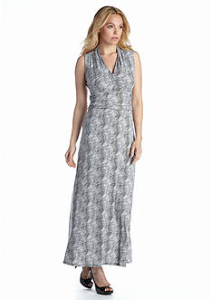 Vince Camuto Starlight Dots Maxi Dress