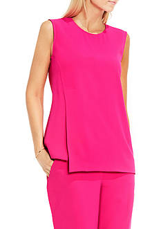Vince Camuto Sleeveless Double Layer Shell Blouse