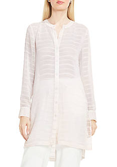 Vince Camuto Long Sleeve Stripe Tunic