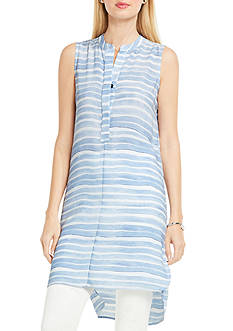 Vince Camuto Sleeveless High Low Tunic